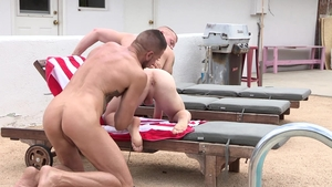 DylanLucas: Brunette Leo Luckett wishes hard sex