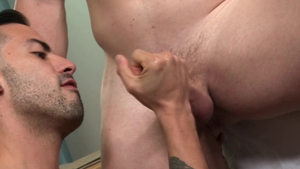 PrideStudios: Blond haired Scott Riley has uncut dick