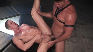 HotHouse.com - Hunk Skyy Knox in mask hard begging
