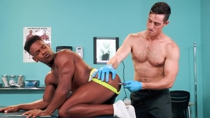 HotHouse.com: Adrian Hart together with Steven Lee hard roped