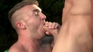Falcon Studios - Bodybuilder Jake Ashford rimming video
