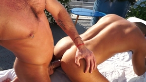 FalconStudios.com: Hairy Massimo Piano and latino Klein Kerr