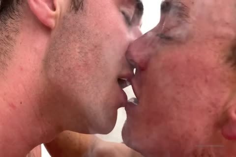 yummy homosexual gangbang With Muscled Hunks At Home