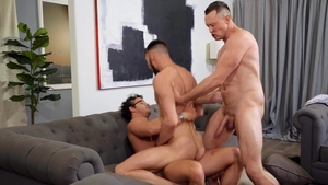 Drill My Hole: Slim Johnny B pounded by huge dick Nate Grimes