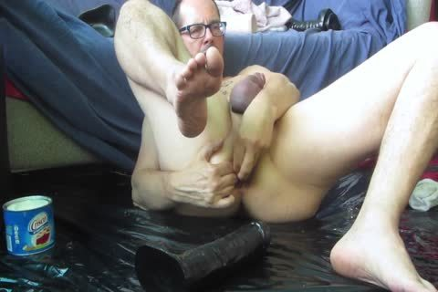 Slippery When wet,butthole joy, vibrator And Fisting