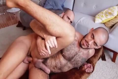 admirable hairy Bottom Knows What To Do With A large large pecker
