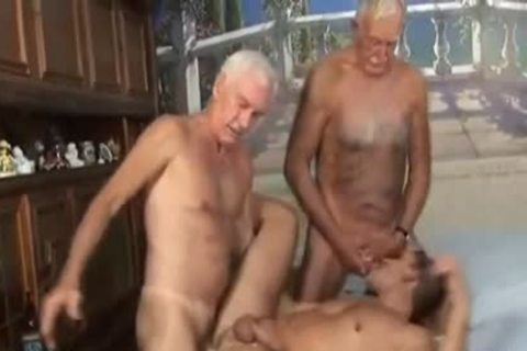 Two grandpapa With fresh lad