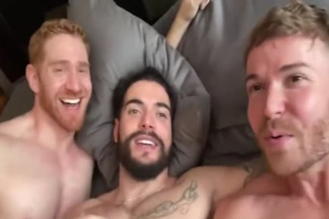 Iggy Lopez - three Some With Gabriel Cross & Leander