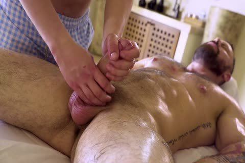 A Massage All Included With Sticky End