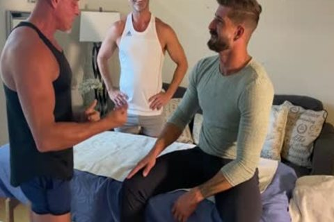 OF - Sean M - receives A Massage