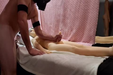 Riding My Sex Doll With ejaculation Ending