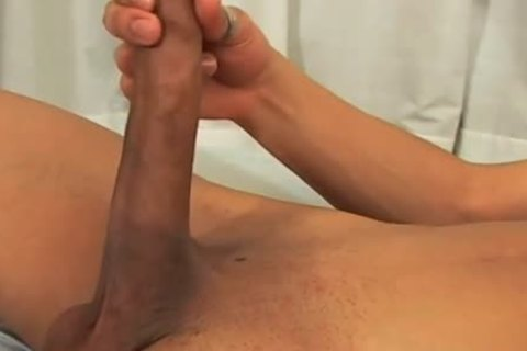 oriental with a gigantic rod beats his rod